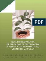 GUIA DE BOA PRÁTICA TRAUMATISMO VERTEBRO-MEDULAR