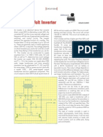 12 to 120 Volt Inverter