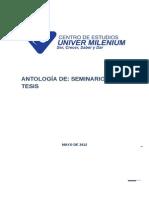 ANTOLOGIA TESIS 2014