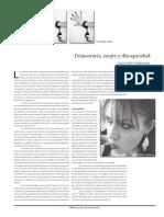 Democracia, Mujer y Discapacidad