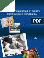 Consumer behavior-advertisements based on Freud theory