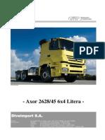 Axor 2628_45 6x4 Con Litera (Nuevo)
