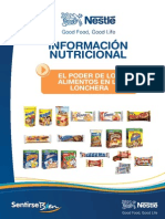 Brochure Lonchera Baja
