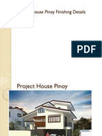 Project House Pinoy Finishing Details