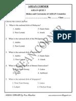 Asean Quiz 3