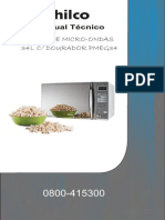 Manual Forno Microondas Philco Mod. Pmeg34