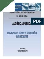 Apresentacao Audiencia Publica _ 2a Ponte