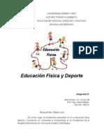 Analisis Critico-Alirio Amaro Educacion Fisica