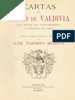 Medina, Jose T.- Cartas de Pedro de Valdivia