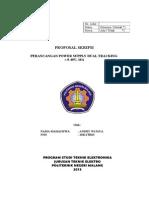 Proposal Skripsi Teknik Elektro