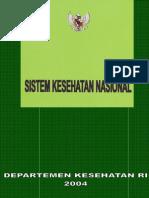 BK2004 A5 Sistem Kesehatan Nasional 2004