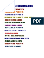 Model Based Project Titles, 2009 - 2010 NCCT