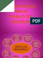Consecuencias Para El Trabajo Del Profesor (CONSTRUIR COMPETENCIAS)
