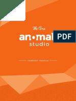 Anomali Studio - Company Profile 2014