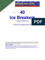 Free Icebreakers