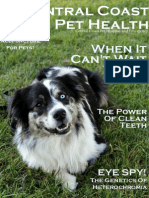 Central Coast Pet Health, Issue 1