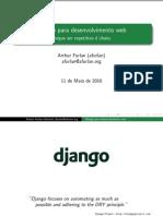Django - Porque Ser Repetitivo e Chato