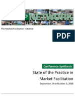 Market Facilitation Synthesis- FINAL
