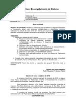 Aula Atividade 03 Analise de Sistemas II