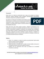 Ficha Técnica Programas 2014