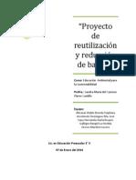 Proyecto Reutilización y Reducción