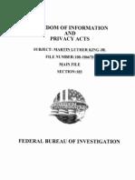 Martin Luther King Jr. FBI File