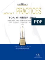 Best Practices TQA Winner 2006