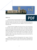 Marketing Stratergies of Taj Hotels, Resorts and Palaces.