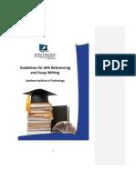 2012 APA Essay Handbook