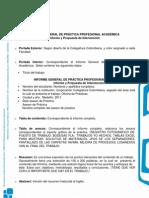 Pautas Informe General de Práctica 02-2011