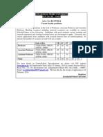 Jawaharlal Nehru University - Vacant Faculty Positions