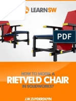 Solidworks Tutorial - Rietveld Chair