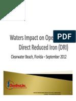 6 Waters Impact on DRI