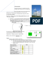 Wind Turbine Efficiency Demonstration