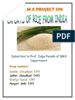 25209640 Rice Export Project