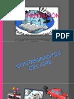 LA CONTAMINACIÓN (aire-suelo-agua)