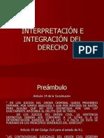 26. Interpretación e Integración