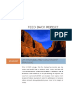 Feed Back Report on Hiv-Aids
