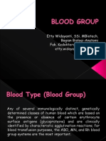 Presentasi Golongan Darah fakultas kedokteran yarsi