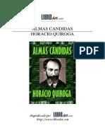 Quiroga, Horacio  - Almas Cándidas