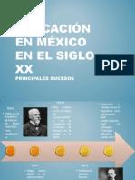 Educación en México_SigloXX