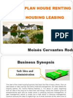 Business Plan House Renting