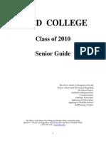 09-10 Senior Guide 8.31.09