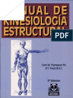 Manual de Kinesiologia Estructural-Clem W. Thompson PH.