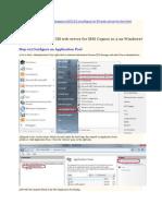 IMP  Cognos Configuration