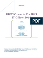 DBMS_IBPS Study material