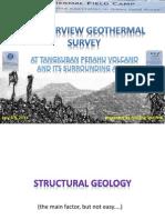 An Overview Geothermal Survey Tangkuban Perahu