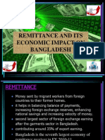 Remittance and Its Economic Impacts on Bangladesh