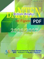 Prov Banten Dalam Angka 2007
