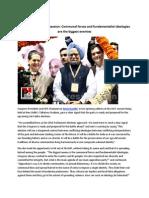 Sonia Gandhi at AICC session